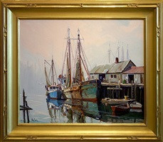 quiet morning, gloucester [sold] by otis pierce cook